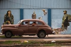 Куба - страна ретро-автомобилей.